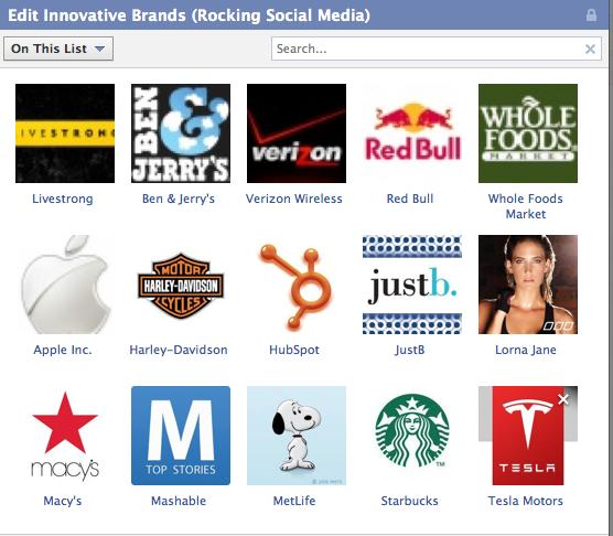 Innovative Brands on Social Media