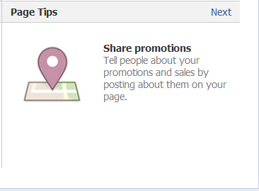 How to share your Facebook in store and online