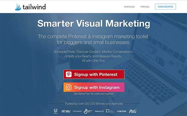 Tailwind App - 7 Top Pinterest Tools for Business to Use Right Now!