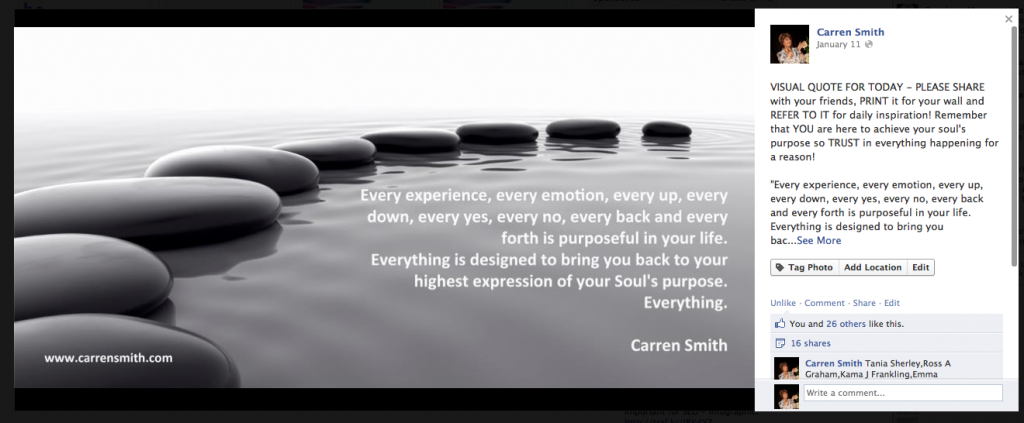 "Carren Smith ""Everything"""