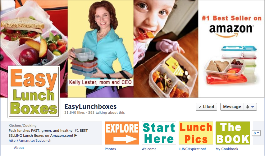 Socially Sorted - Visual Marketing - Easy Lunchboxes