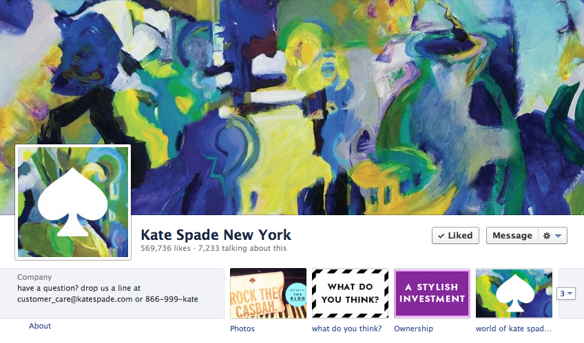 Using Visual Marketing for Social Media Results - www.katespade.com