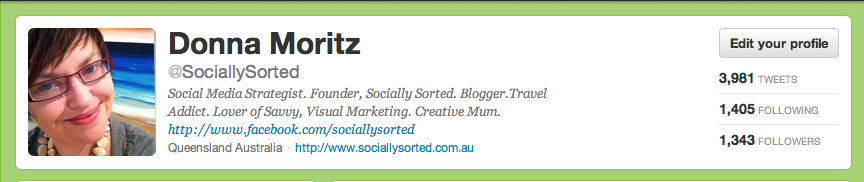 How to Get More out of your Twitter Bio @sociallysorted