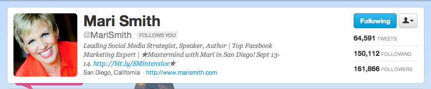 How to Get More Out of Your Twitter Bio - 5 Examples that Drive Traffic (Mari Smith) www.sociallysorted.com.au