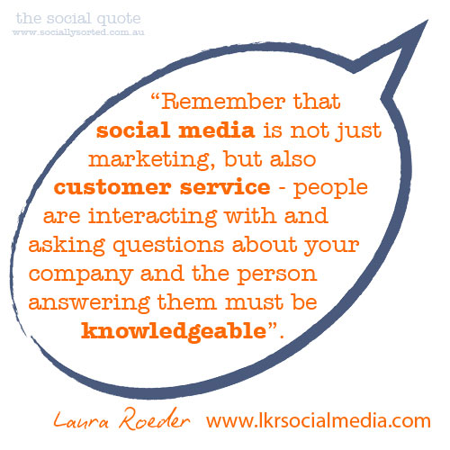 The Social Quote - Laura Roeder