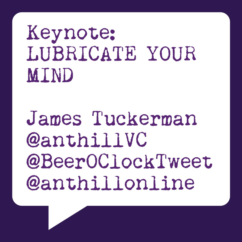 Problogger Training Event 2012 | James Tuckerman |Anthill | Lubricate Your Mind | Socially Sorted