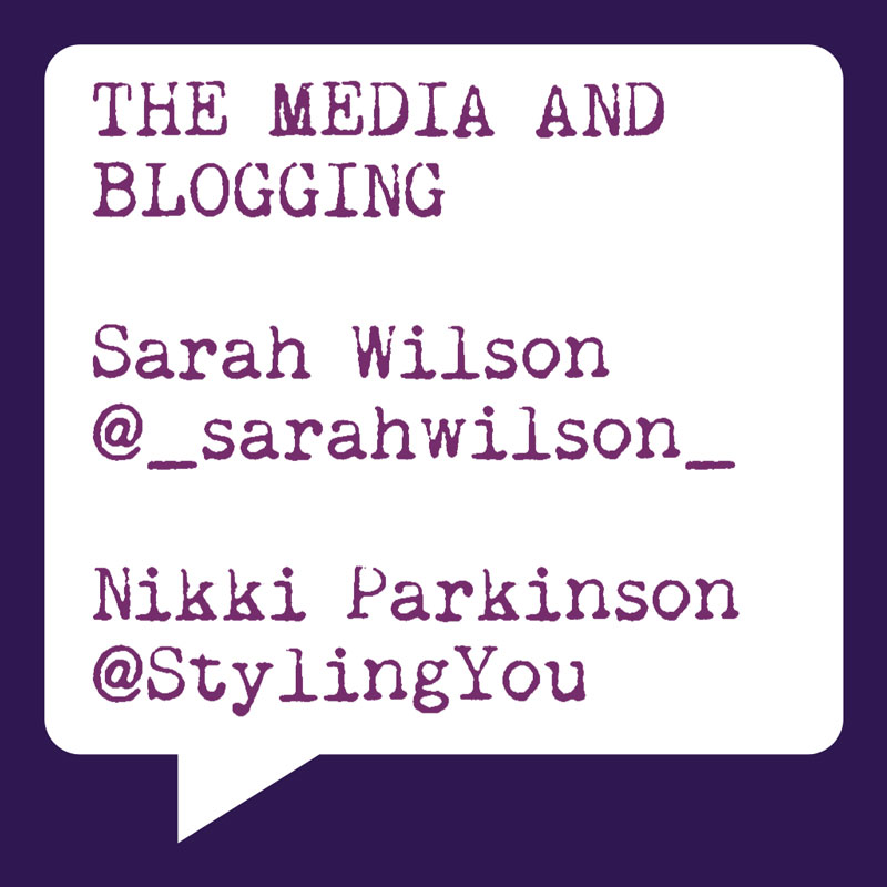 Problogger Training Event | The Media and Blogging | Sarah Wilson | Nikki Parkinson | Socially Sorted