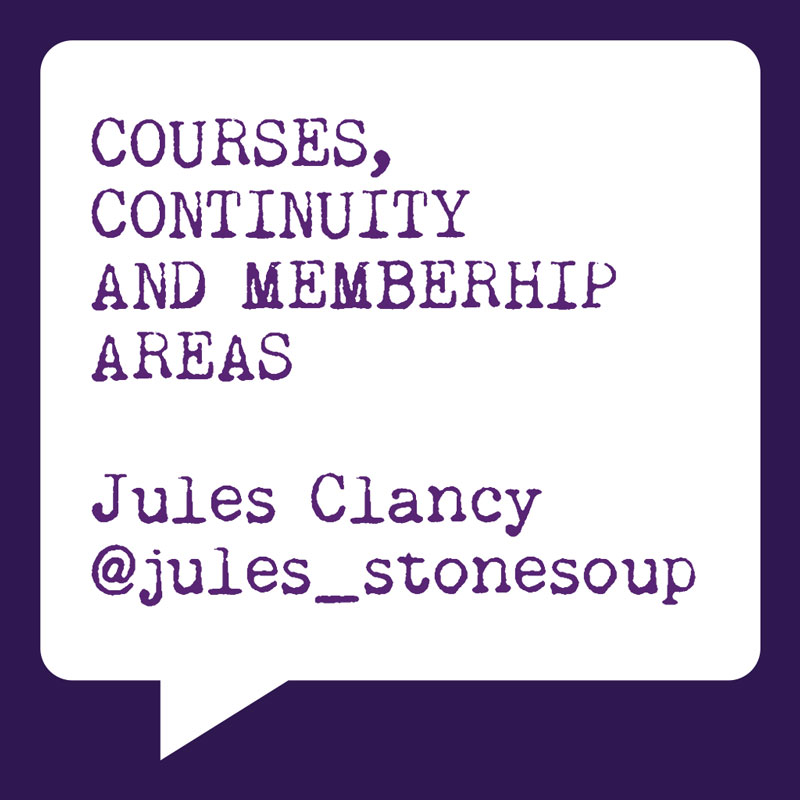 Problogger Training Event 2012 | Jules Clancy | Courses, Continuity and Membership Areas | Socially Sorted