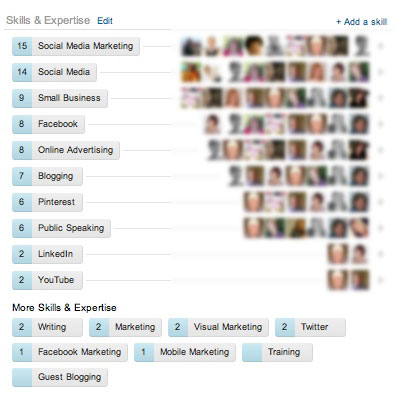 Endorsements   LinkedIn   Socially Sorted