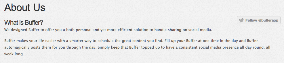 Buffer | Feeddler | Social Media | App | Socially Sorted | Buffer Description