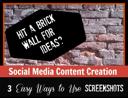 Social Media Content Creation - Screenshots
