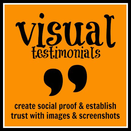 visual testimonials - socially sorted