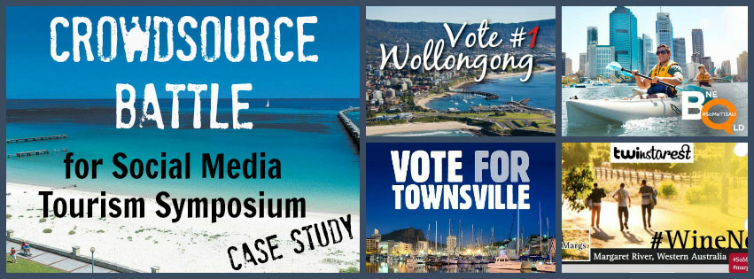 Crowdsource Battle for Social Media Tourism Symposium