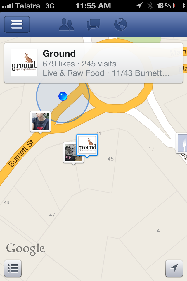 Ground phone locating (Nearby)