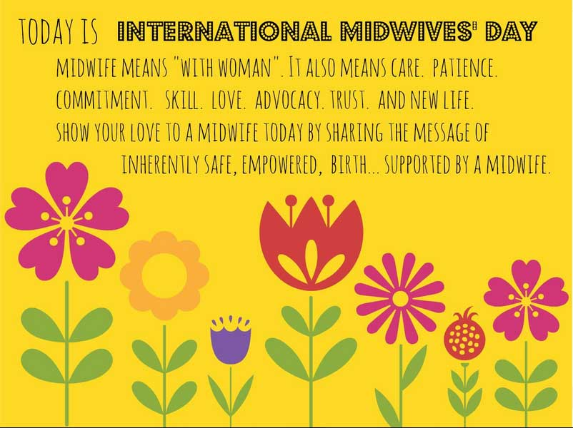 Know Your Midwife Midwive's Day Image - Complete