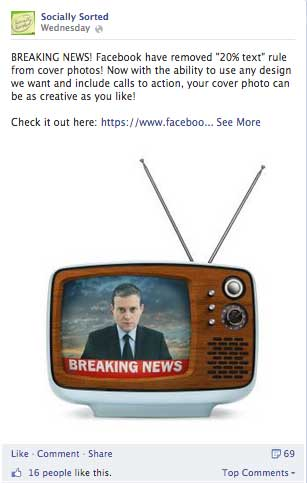 Breaking News Image example