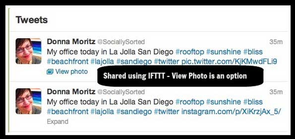 IFTTT Screenshot - Twitter