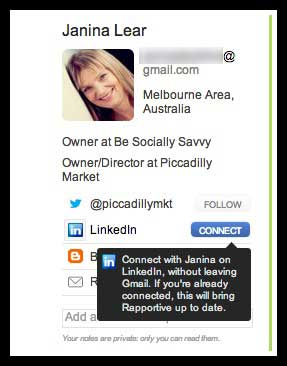 janina lear is your gmail social how to use gmail daily to build an rapportive