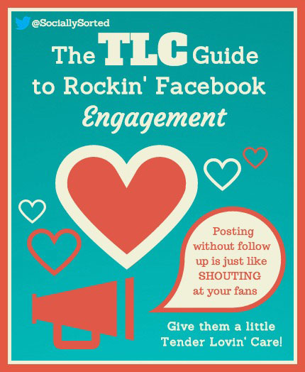 3 Steps to Kickstart Your Facebook Engagement in Less Time [Infographic] www.sociallysorted.com.au