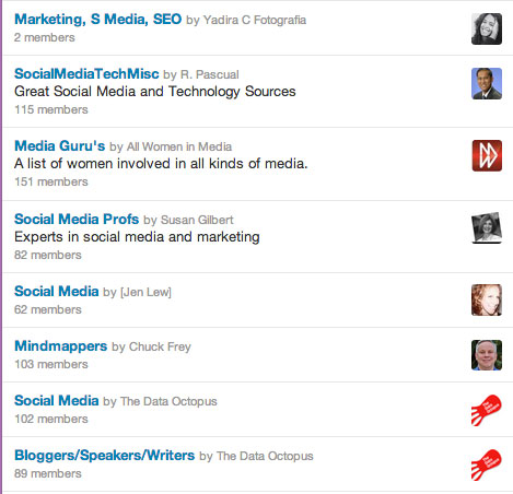 3 Ways to Use Social Media to Get Inside the Head of Your Ideal Client - Member of Lists - www.sociallysorted.com.au/social-media-get-inside-the-head-of-your-ideal-client