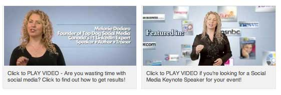 Melonie Dodaro Videos Featured on LinkedIn