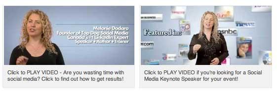 Melonie Dodaro Videos Featured on LinkedIn