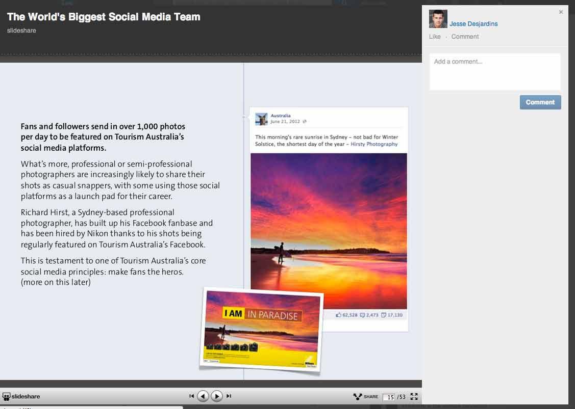 Slideshare on LinkedIn