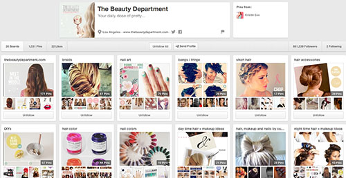 Beauty Department on Pinterest
