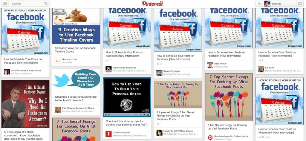 Pinterest Source Check Example - Kim Garst