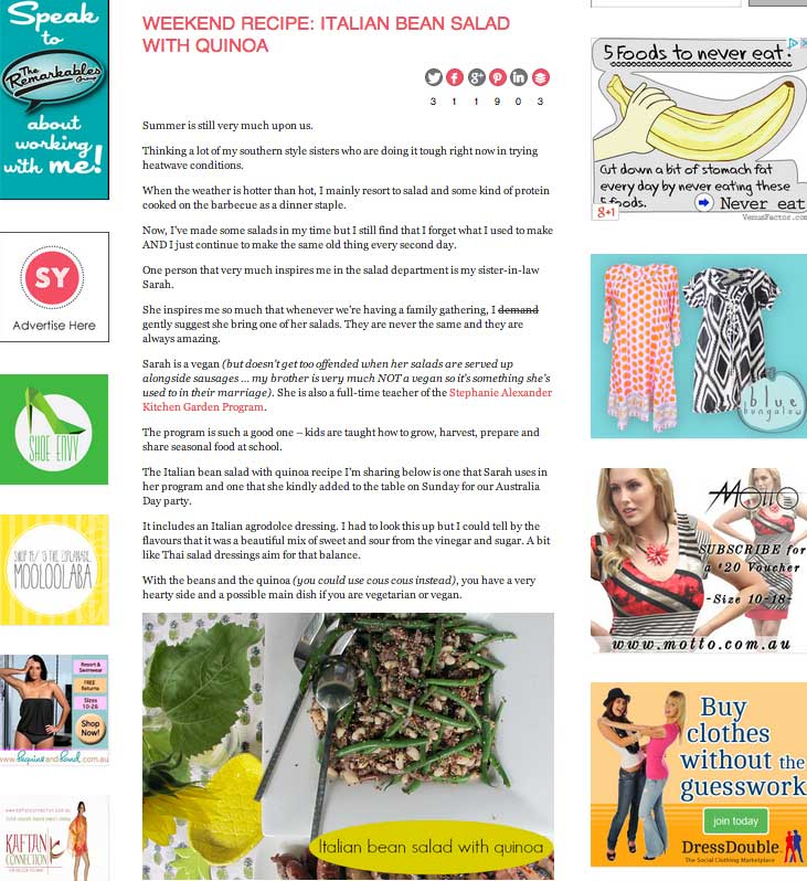 Blog Post Example from Styling You