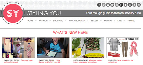 Styling You Website - Image