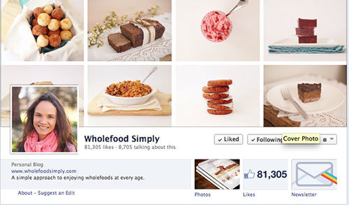 Wholefood Simply Facebook Page