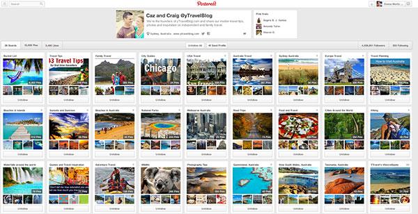 Y Travel Blog Pinterest Boards
