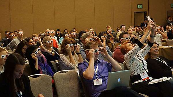 Donna Moritz Keynote Speaker - Audience at SMMW14
