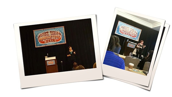 Donna Moritz Speaking at Social Media Marketing World