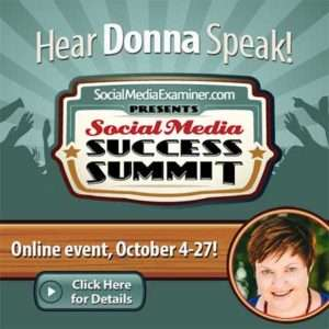 Social Media Success Summit 2016 - Donna Moritz