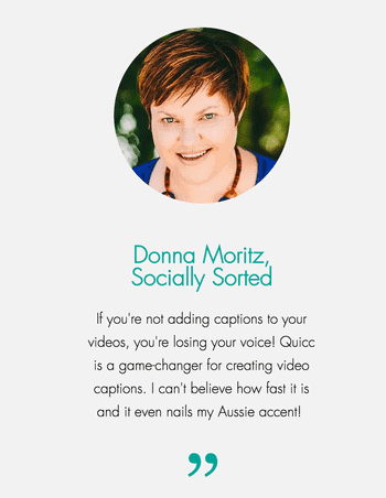 Quicc testimonial by Donna Moritz - 26+ Awesome Tools and Resources to Work Remotely (and stay entertained!)