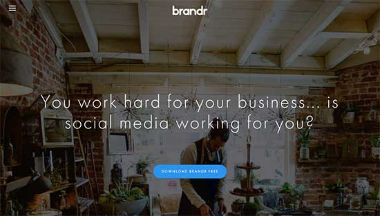 Brandr - an image design app for small business