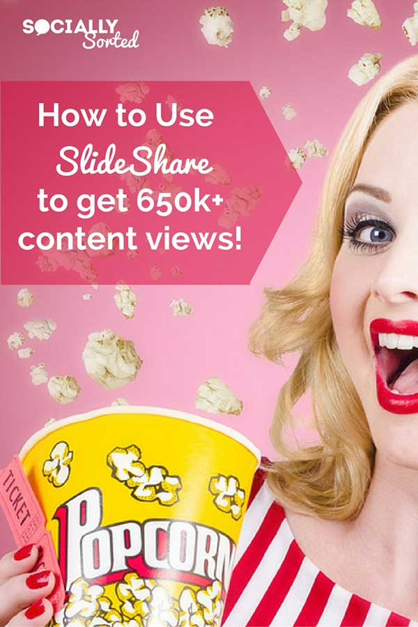 How to Use SlideShare to get 650k Views of your Content!
