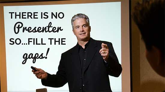 There is no presenter on SlideShare - fill the gaps! - How to Use SlideShare to Attract 450k views of your content!