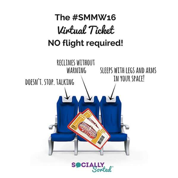 Ditch the long haul - no flight is required when you grab Social Media Examiner's Virtual Ticket!