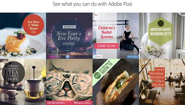Adobe Post - 50 Shortcuts to Create Visual Content for Social Media