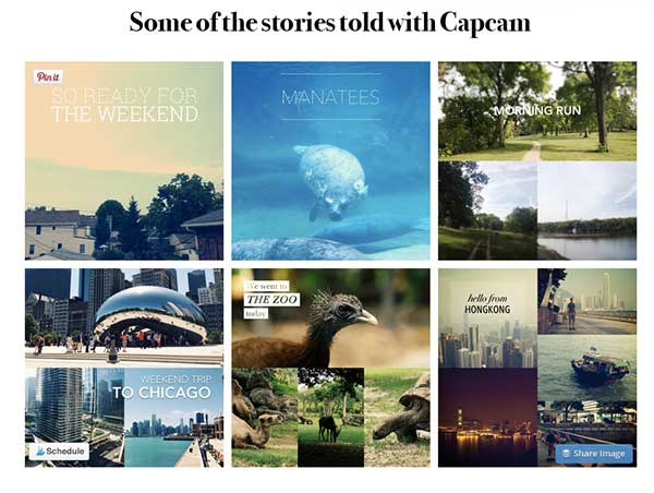 Capcam, 50 Shortcuts to Create Visual Content for Social Media