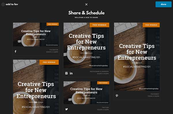 Designfeed's Image Templates - 50 Shortcuts to Create Visual Content for Social Media