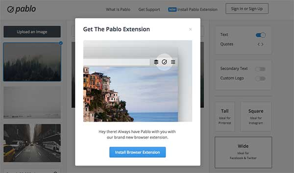 Pablo by Buffer - 50 Shortcuts to Create Visual Content for Social Media