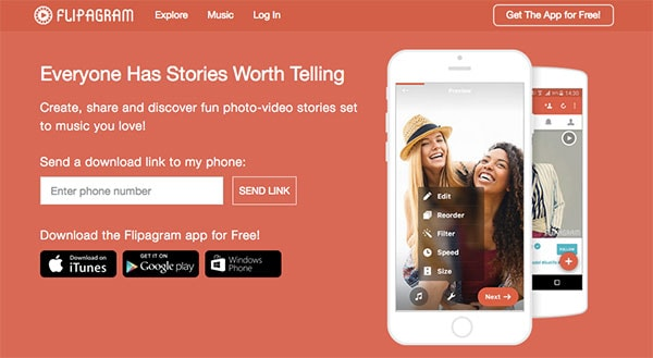 5 Ways to Get Started with Short Video - Flipagram is great for making short video