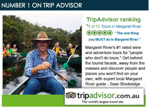 Margaret River Discovery Company on Trip Advisor