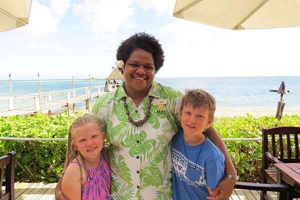 Our kids couldn't wait to see Fiji Mere again