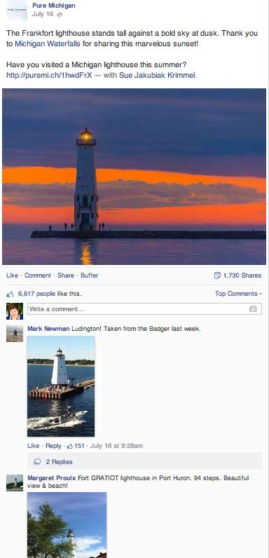 Pure Michigan Lighthouses