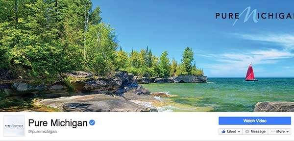 Pure Michigan on Facebook